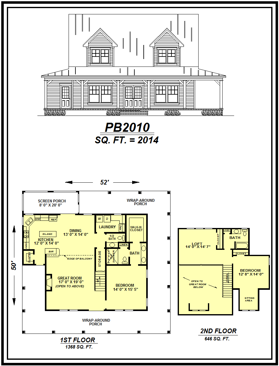 picture of house plan #PB2010