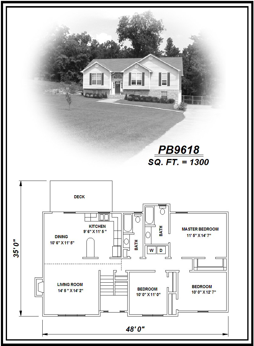 picture of house plan #PB9618