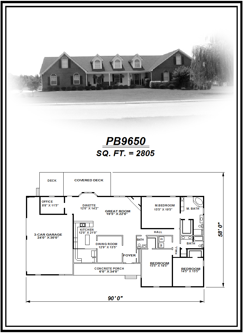 picture of house plan #PB9650