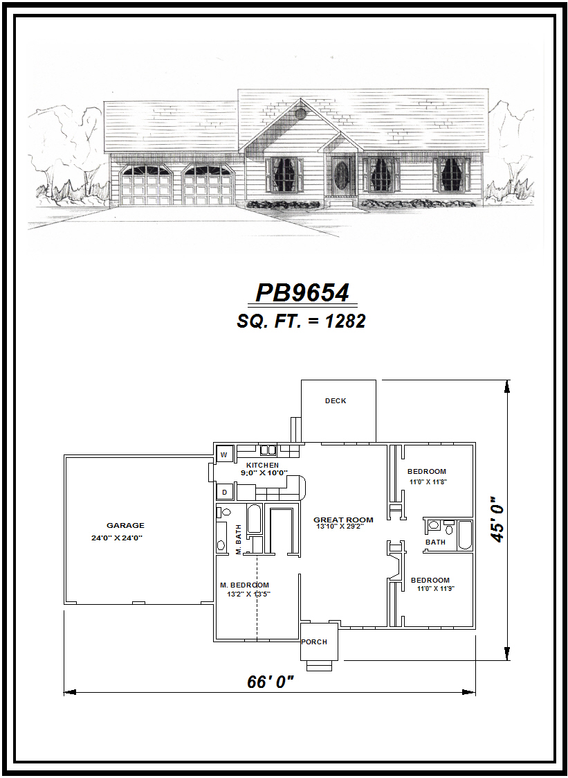 picture of house plan #PB9654