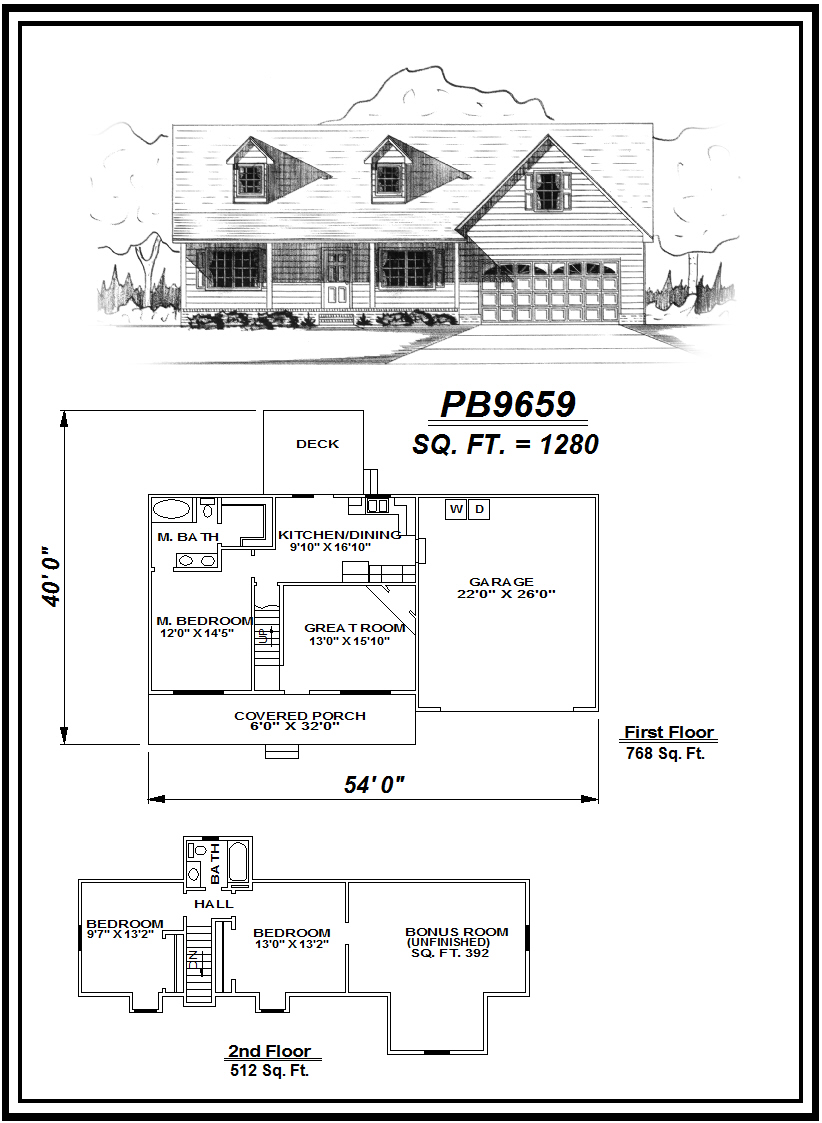 picture of house plan #PB9659