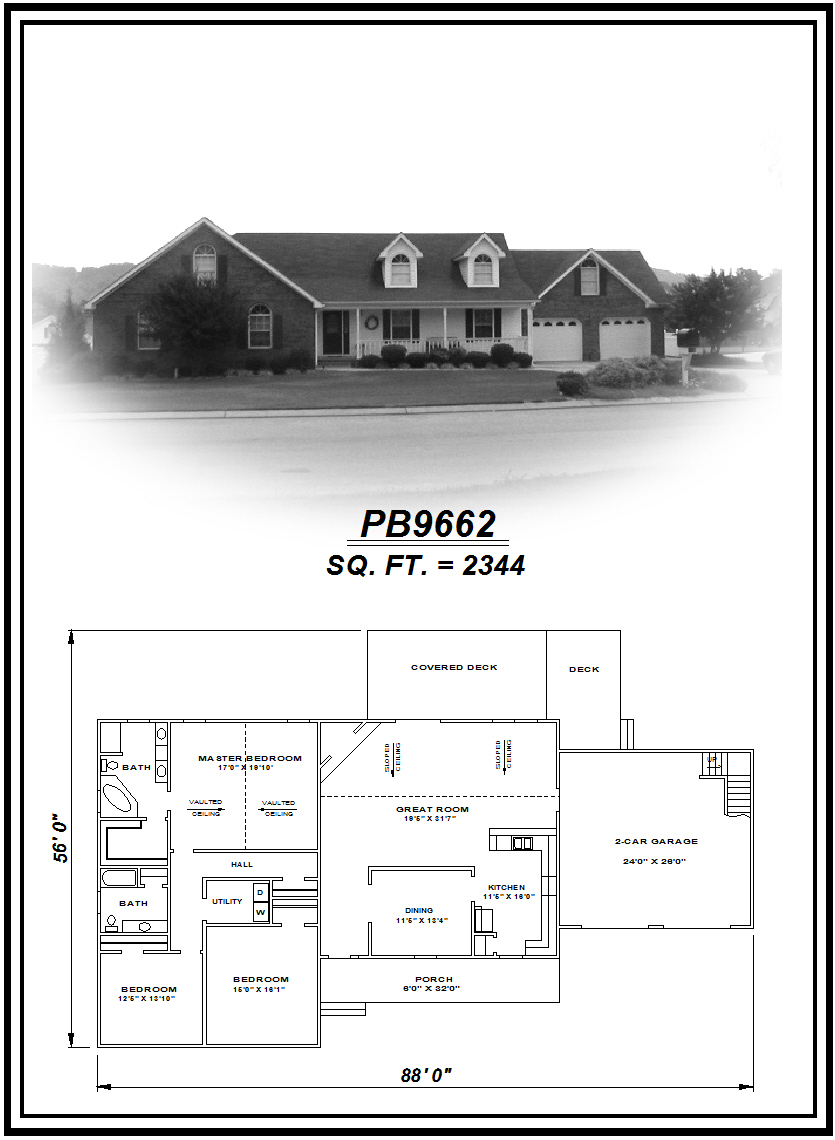 picture of house plan #PB9662