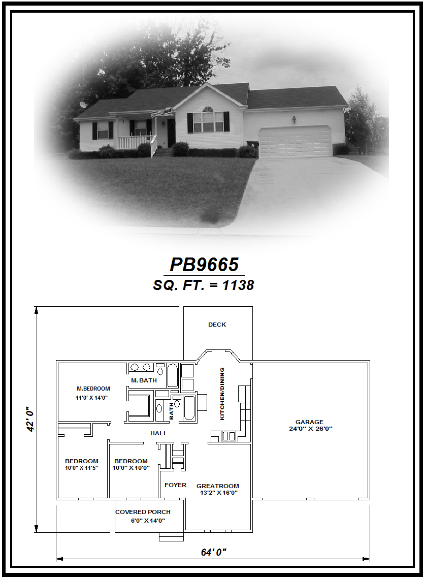 picture of house plan #PB9665