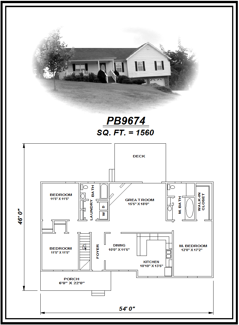 picture of house plan #PB9674