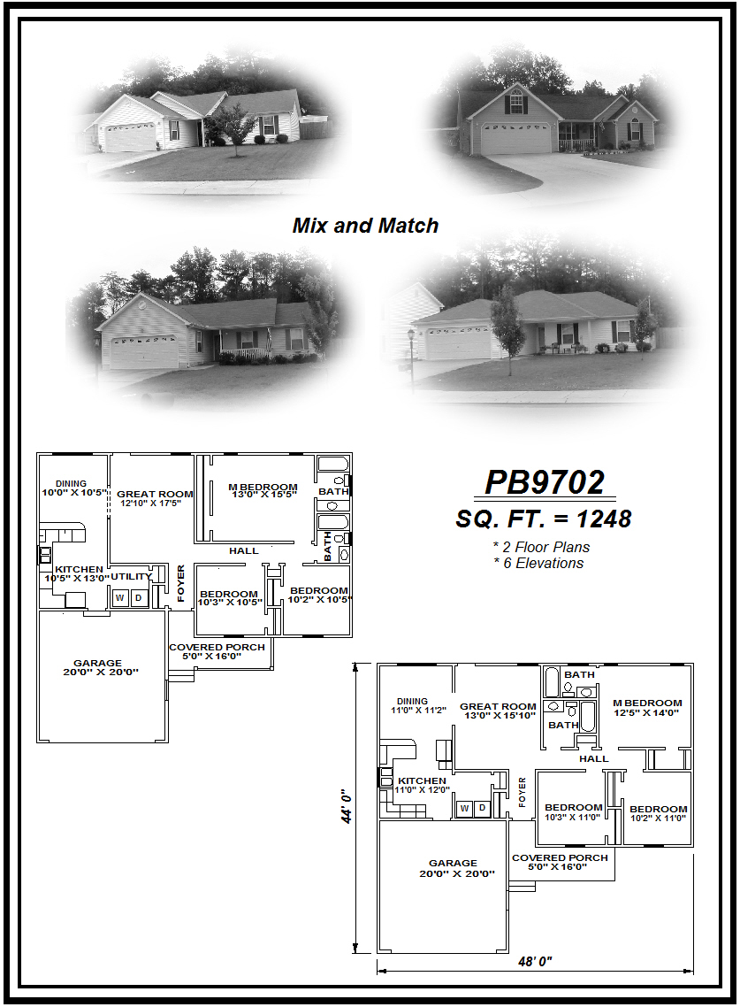 picture of house plan #PB9702