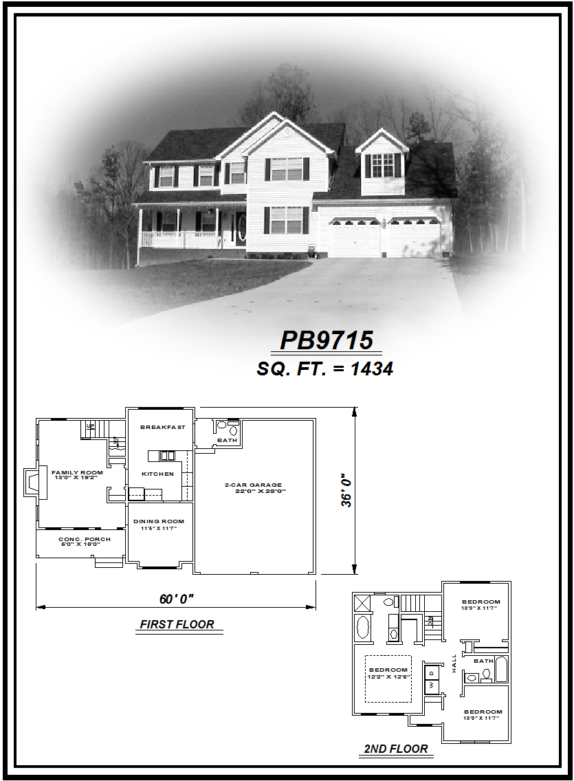 picture of house plan #PB9715