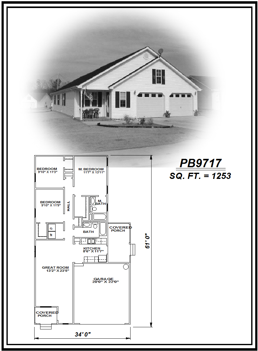 picture of house plan #PB9717