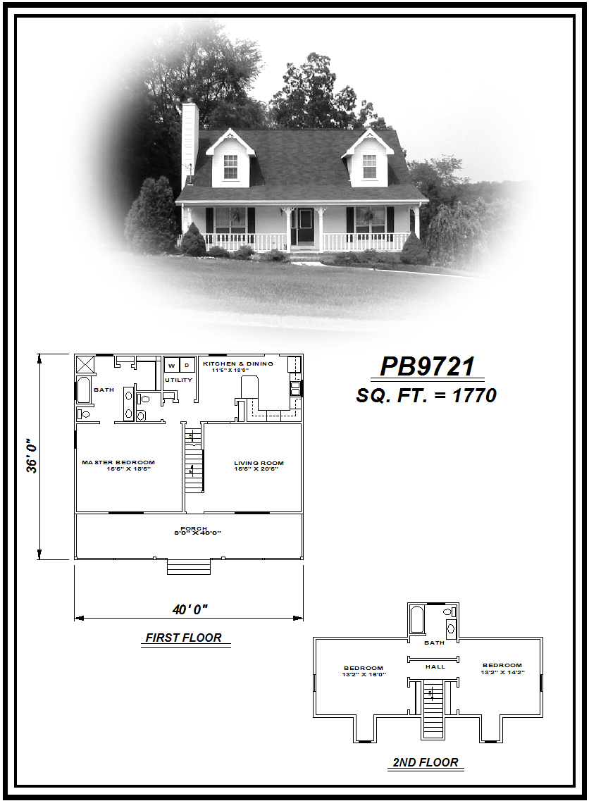 picture of house plan #PB9721