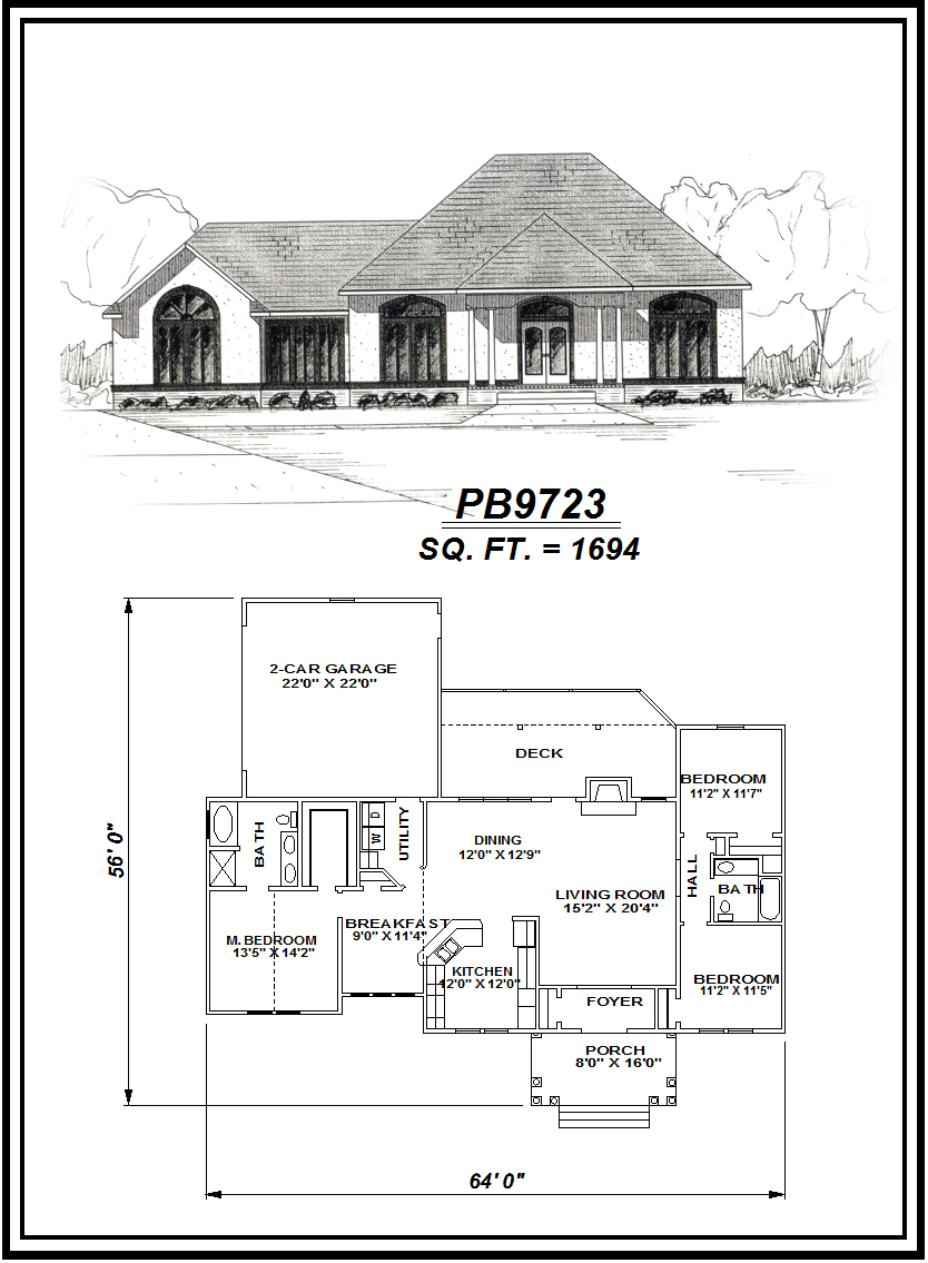 picture of house plan #PB9723