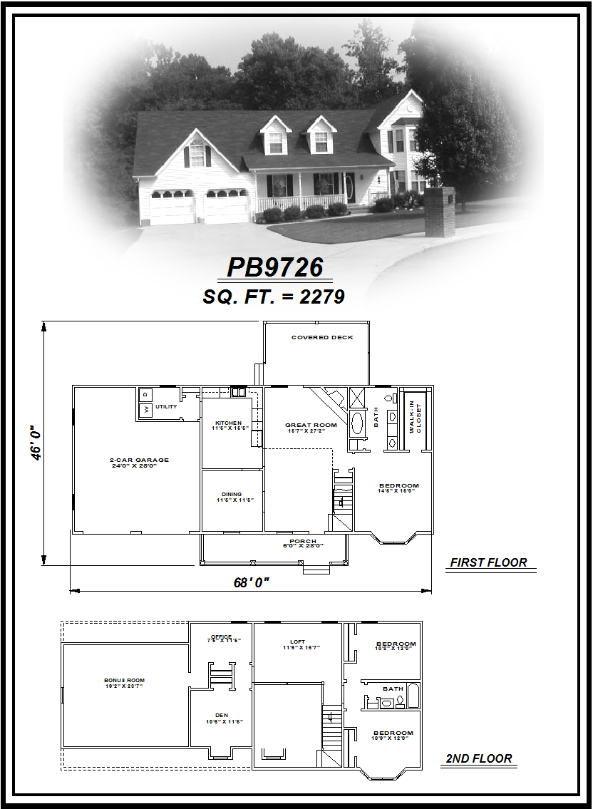 picture of house plan #PB9726