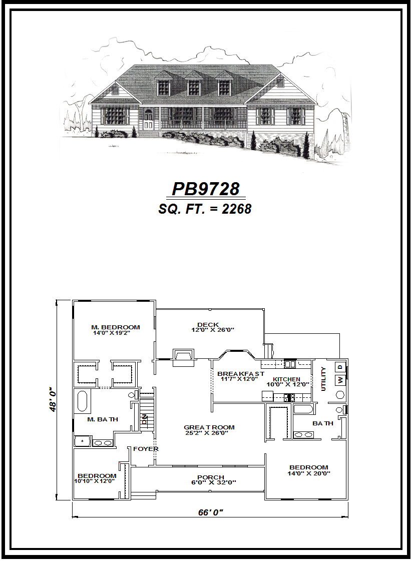 picture of house plan #PB9728
