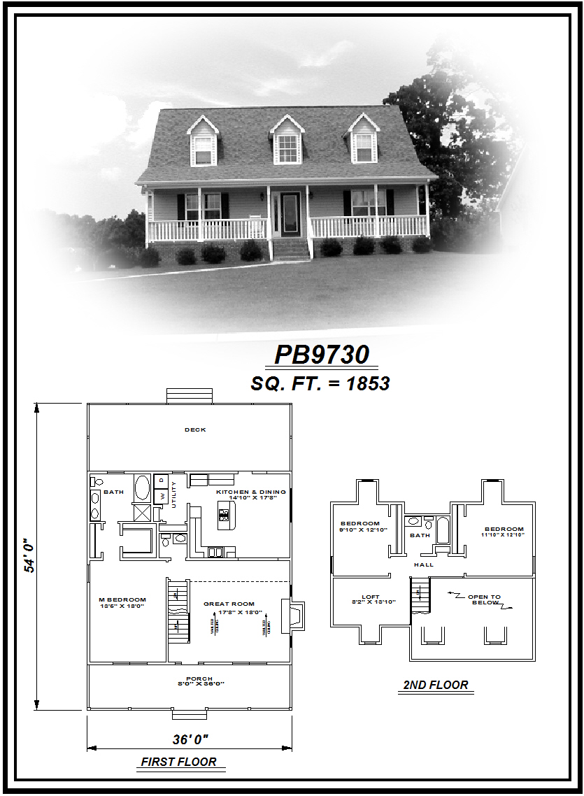 picture of house plan #PB9730