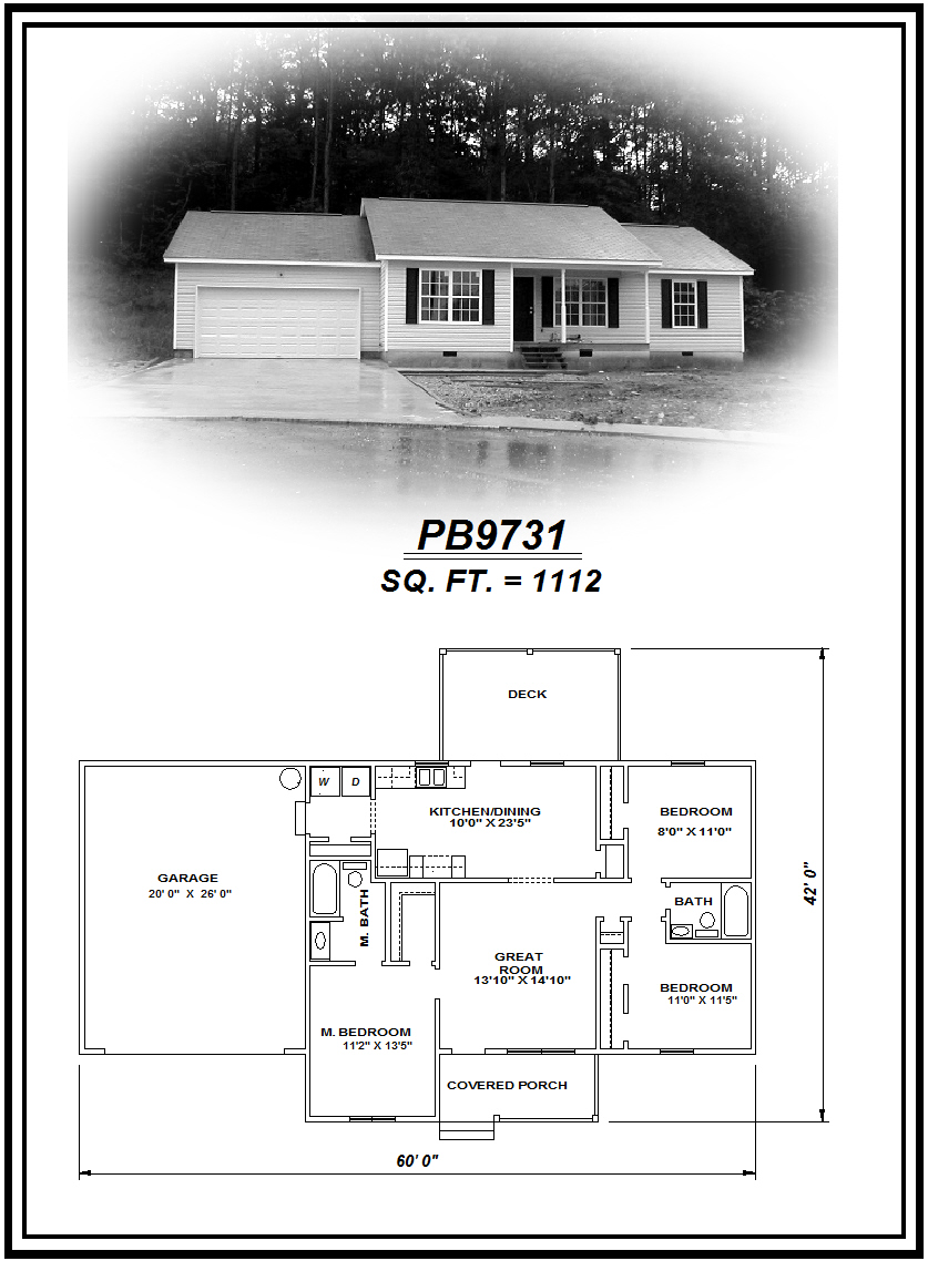 picture of house plan #PB9731
