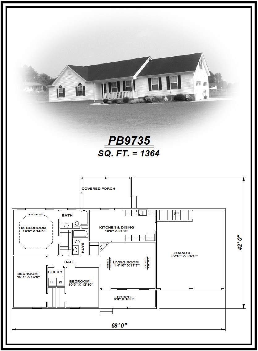 picture of house plan #PB9735