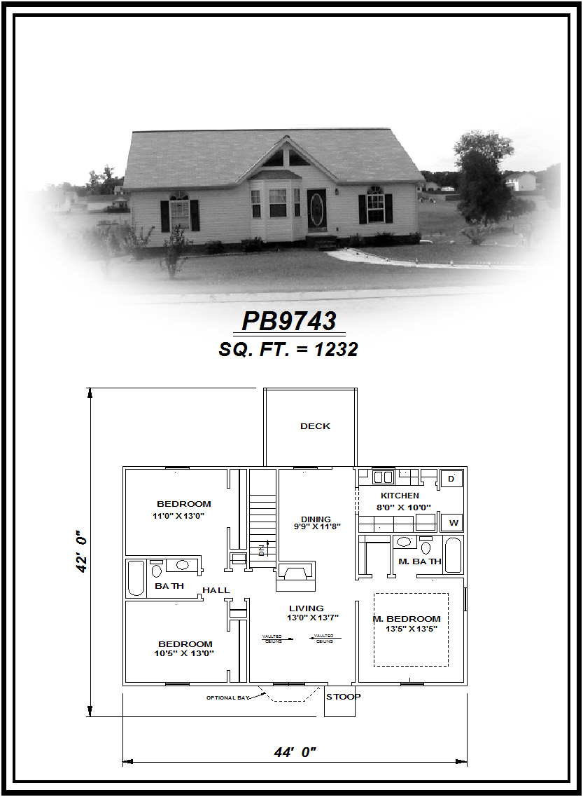 picture of house plan #PB9743