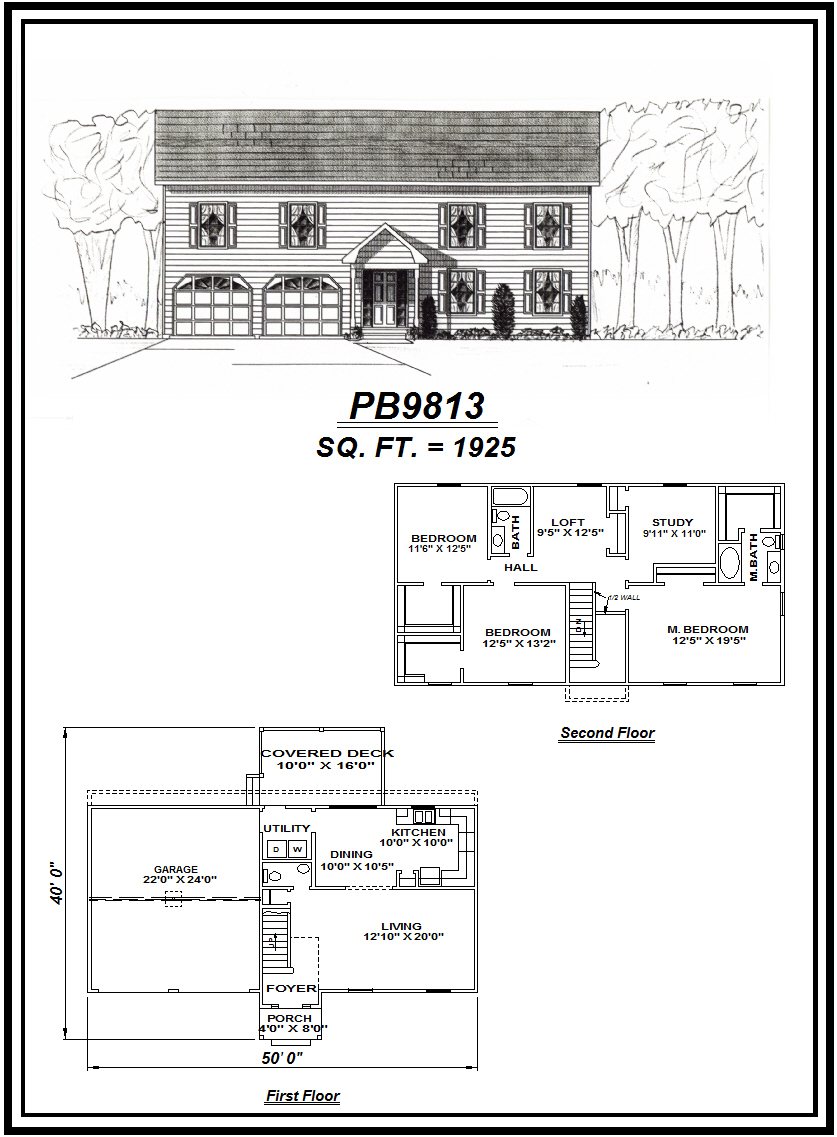 picture of house plan #PB9813
