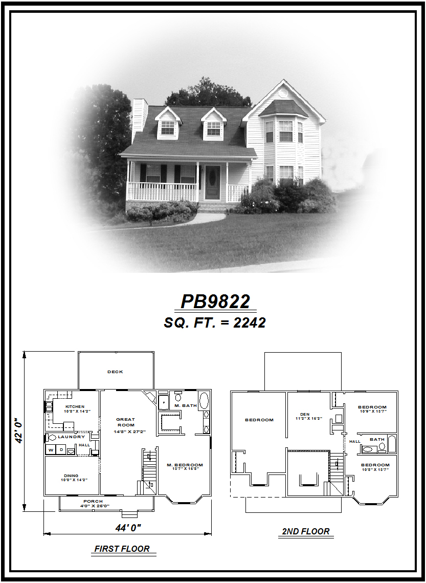 picture of house plan #PB9822