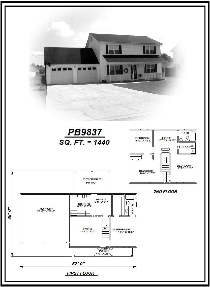 picture of house plan #PB9837
