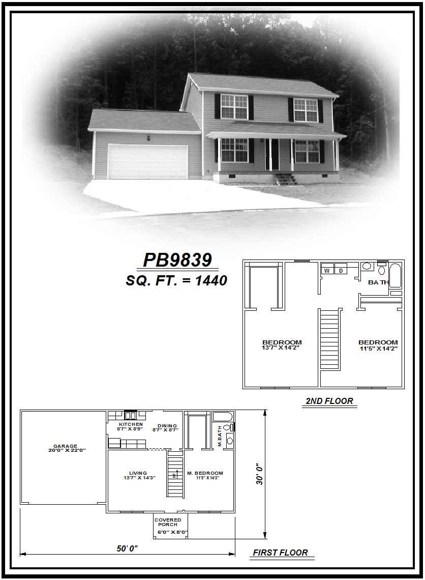 picture of house plan #PB9839