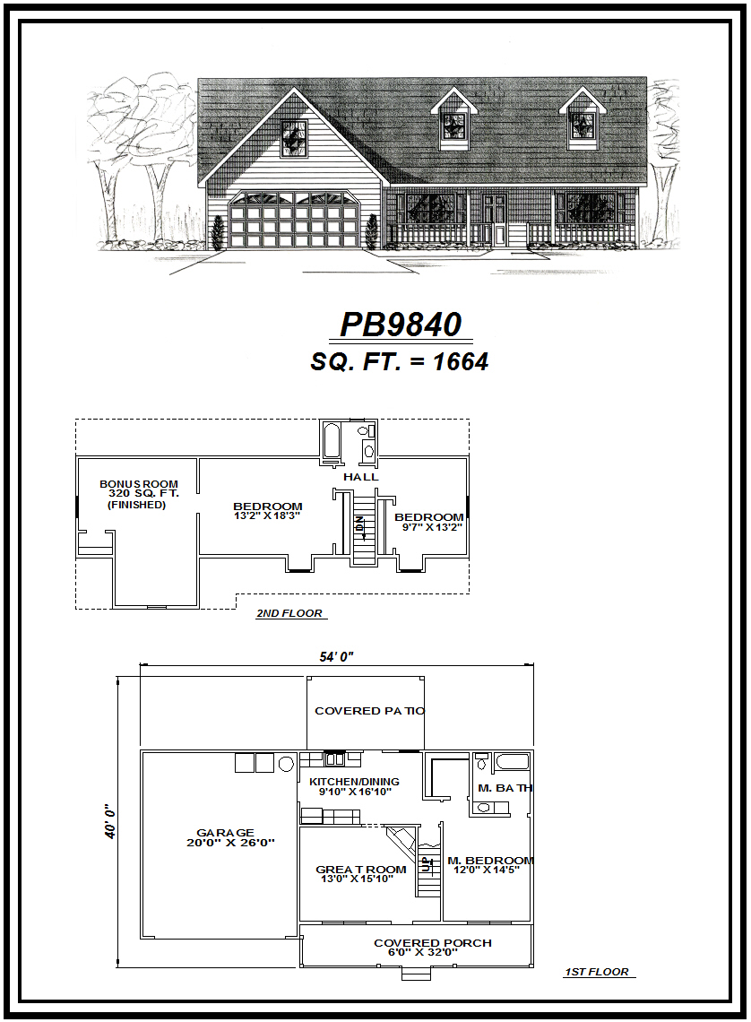 picture of house plan #PB9840