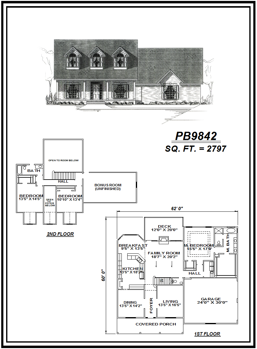 picture of house plan #PB9842