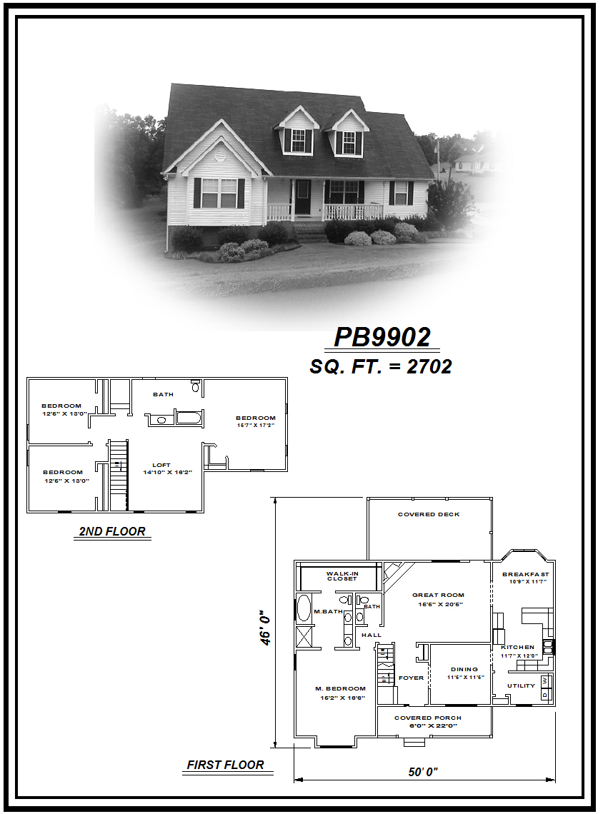 picture of house plan #PB9902