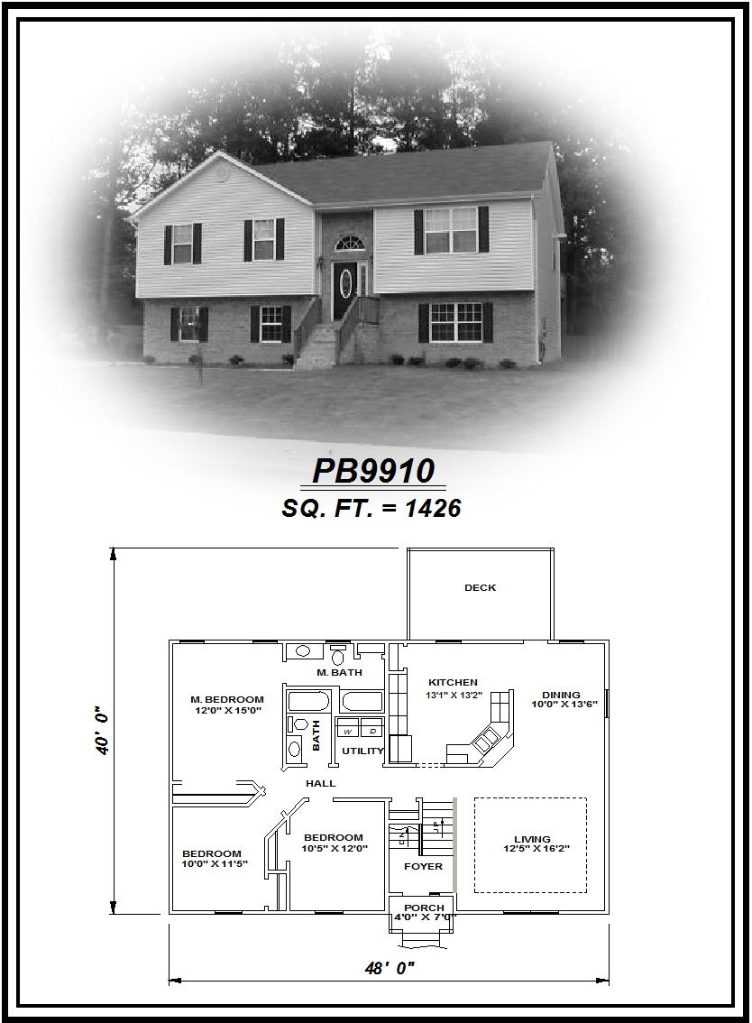 picture of house plan #PB9910