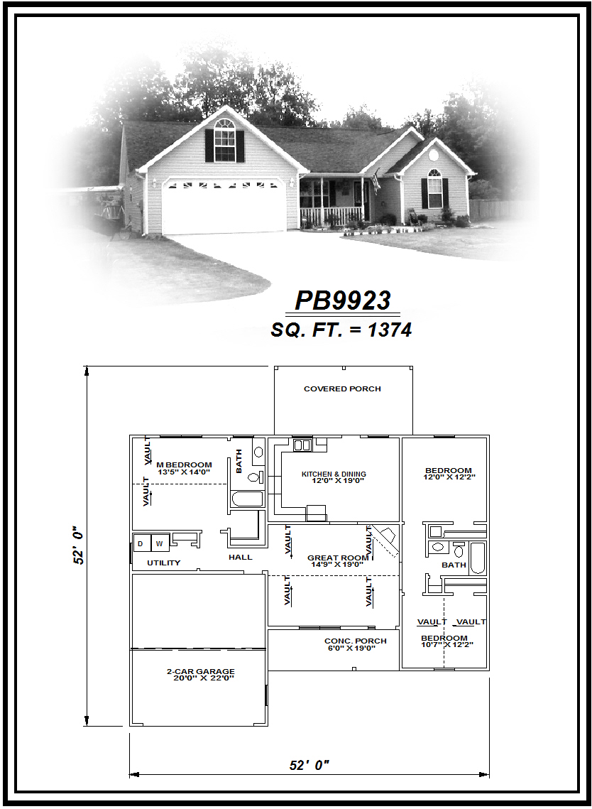 picture of house plan #PB9923