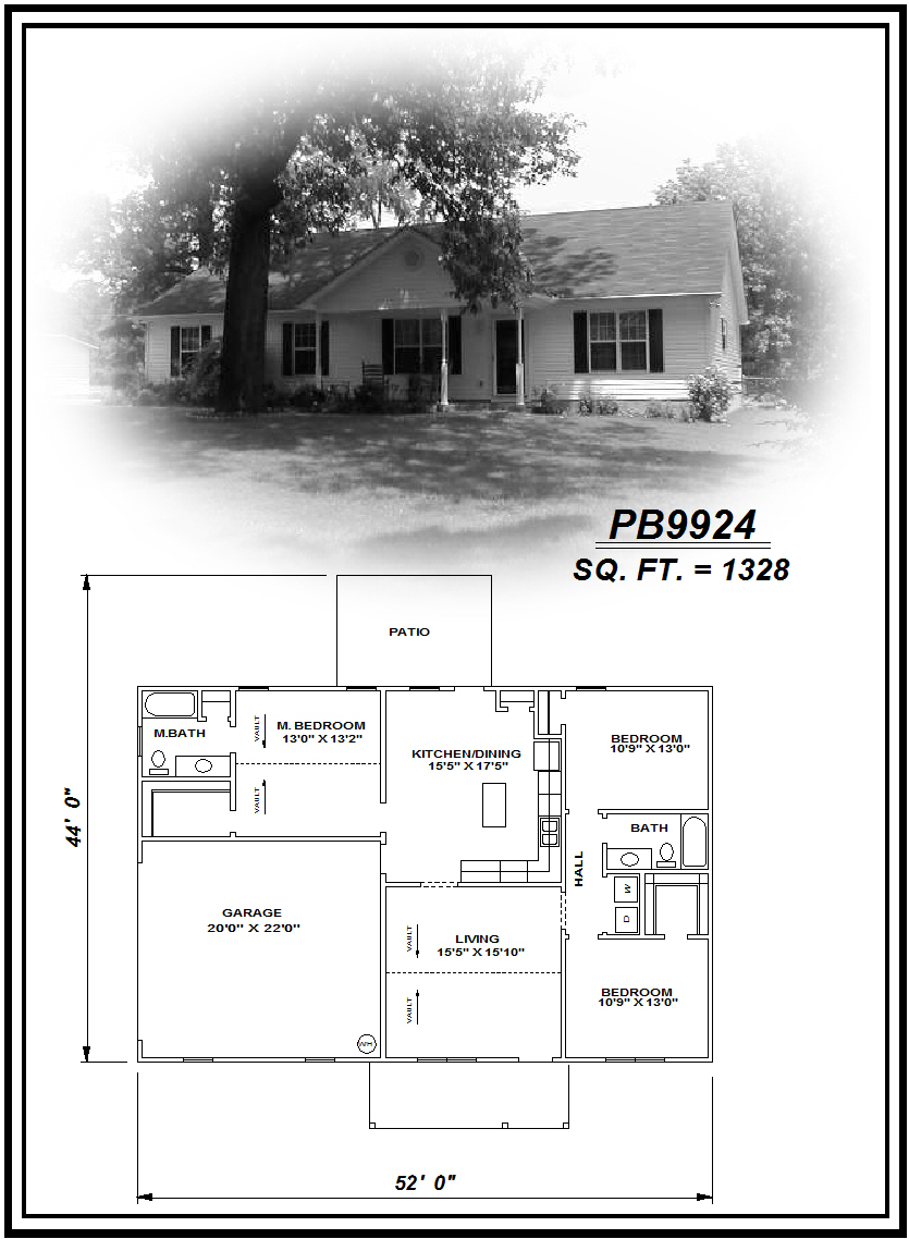 picture of house plan #PB9924